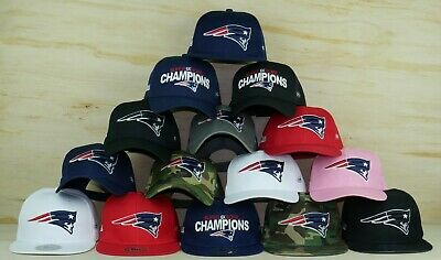 a540dc4664f New England Patriots Glow In The Dark Snapback Low Profile Super Bowl Champ  Hats