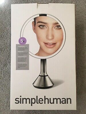 Simplehuman Tru-Lux Light Sensor Mirror - NEW!!