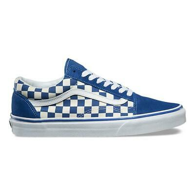 6e6c372432 New VANS Mens Checkerboard Old Skool BLUE   WHITE VN0A38G1P0U US M 7 - 10  TAKSE