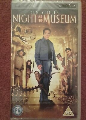 """""""Night At The Museum"""" For PSP - UMD Video (English) 2008. BRAND NEW & SEALED"""