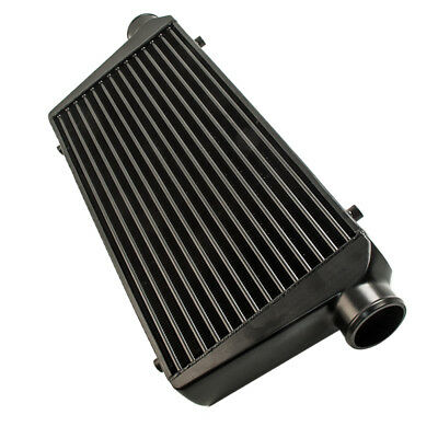 Universal Turbo Front Mount Black Intercooler 3 600X300X76Mm Fmic Evo Wrx Apk