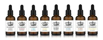 Beard Oil | Aftershave Scented | 7 Scents | 100% Organic | No Alcohol