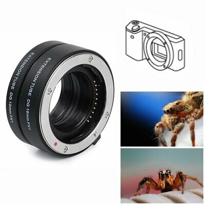 【AU】Automatic Focus AF Macro Extension Tube DG 10+16mm For Fuji XF Mount X-Pro1