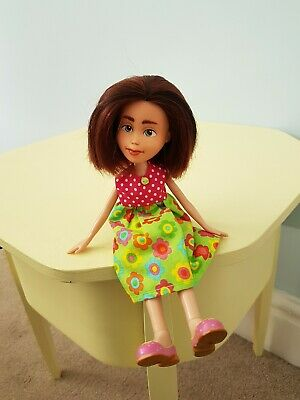 Cute Bratz doll repaint, OOAK comes with two outfits.