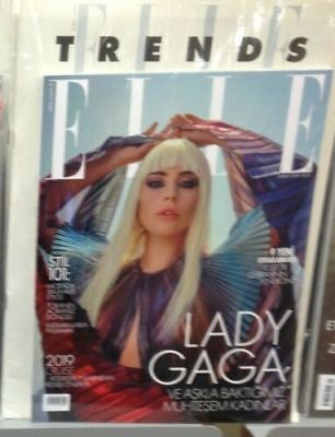 Elle magazine LADY GAGA FEBRUARY 2019 TURKEY TURQUIE FEVRIER