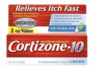 Cortizone-10 Max Strength Cortizone-10 Crme, 2 Ounce Box