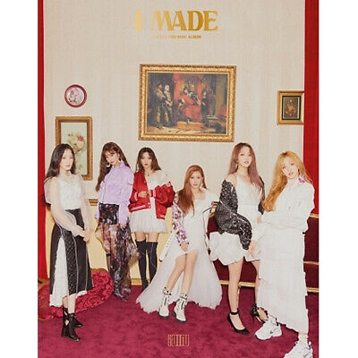 GIRL I-DLE [I MADE] 2nd Mini Album CD+POSTER+Photo Book+Card+2ea Sticker SEALED