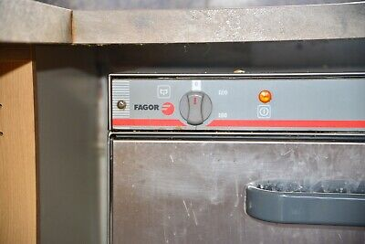 Fagor commercial dishwasher used