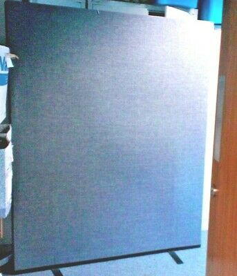grey privacy partition for office/waiting area