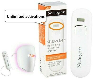 NEW Unlimited Activator for NEUTROGENA Visibly Clear Light Therapy Acne Mask NEW