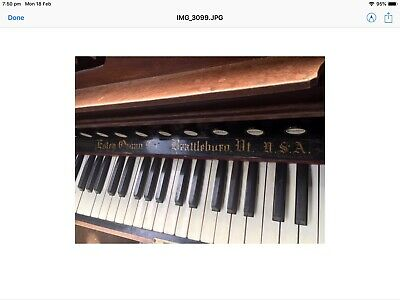 Pre 1870 Estey Antique Pump Organ. In working order and in great condition
