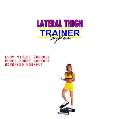 Lateral Thigh Trainer Workout DVD Beginners to Advanced Fitness Keep Fit Workout