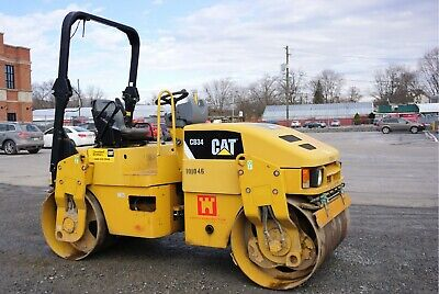 2011 Cat CB 34 Tandem Roller 4 Ton Great Shape