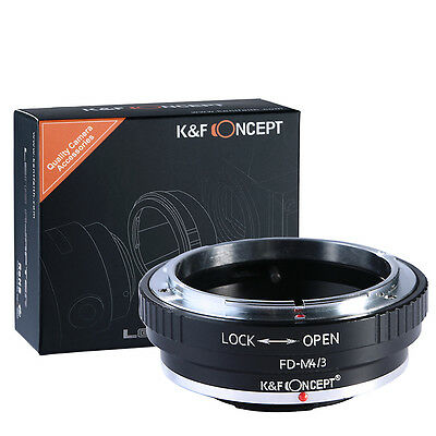 K&F Concept adapter for Canon FD mount lens to Micro 4/3 M4/3 Mount Adapter GH4