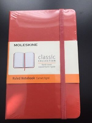 Genuine Moleskin Pocket Notebook