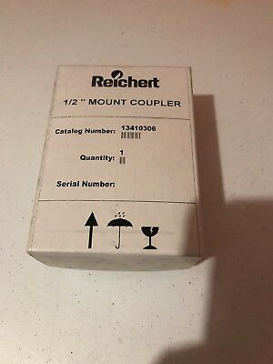 "Brand New Reichert 1/2"" Mount Coupler Microscope Lens Eye Pieces"