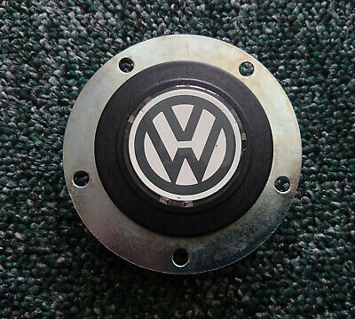 VW new original Victor horn button for sport rally racing steering wheel golf