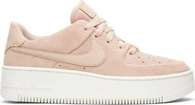 timeless design db565 0f959 NIKE WOMEN'S AF1 Sage Low Beige White Fashion Sneakers AR5339-201 Pick Size
