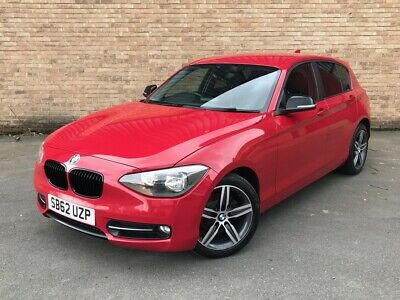 2012 62 REG BMW 116i SPORT TURBO RED MANUAL PETROL NO RESERVE AUCTION!