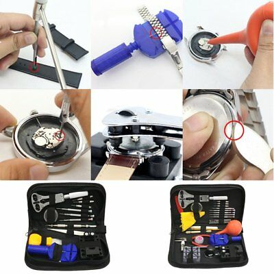 High-Grade 27pcs Tool Set Watch Repair Tools Kit Watch Tools Watchmakers Set &&