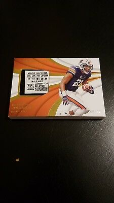 2018 Panini Immaculate Collegiate Football Kerryon Johnson Cleats - Tag 09/22
