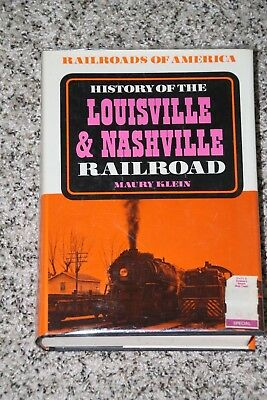 history of the louisville and nashville railroad klein maury