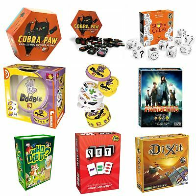 Asmodee Games - Set Game, Dixit, Pandemic, 'Who Did It?'  & More!