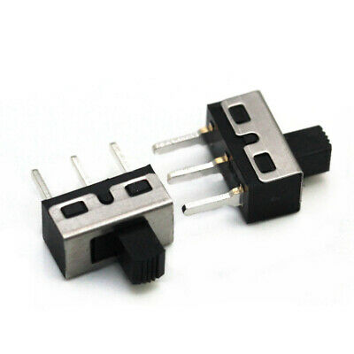 4.7mm 2A 125V SS12D10 SPDT 1P2T 2 Position 3 Pin 5mm Shaft Vertical Slide Switch