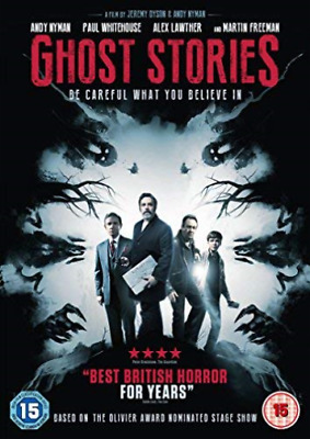 Ghost Stories DVD NEW