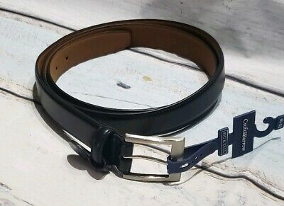 Croft /& Barrow Big and Tall Belt Brown Silver Buckle New NWT Reinforced 46 48