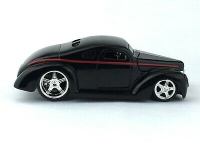 Jada D Rods 1940 40 Ford Black Hot Rod Die-Cast 1/64 Scale 2005 Wave 1 Loose