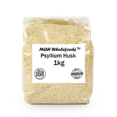 **SPECIAL OFFER** Psyllium Husk 95% Pure Premium Quality! Select Size 25g-2kg