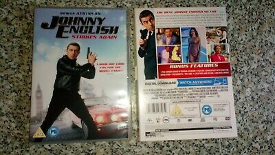 Johnny English Strikes Again DVD Seen Once R2 purchased 18/02/2019 NO DOWNLOAD
