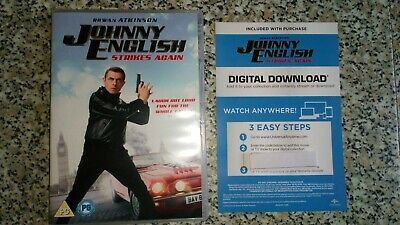 Johnny English Strikes Again DOWNLOAD ONLY purchased 18/02/2019