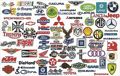 Over 200 embroidery designs motorsports formats pes, embroidery files brother