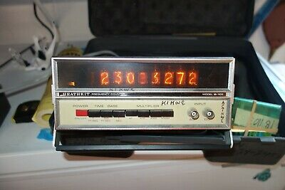 Heathkit Heath Ib-1103 Frequency Counter  With Booklet