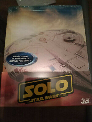 DISNEY STEELBOOK 3D SOLO A STAR WARS STORY neuf sous blister