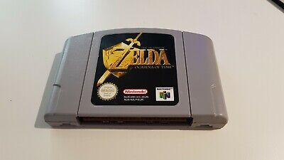 The Legend of Zelda: Ocarina Of Time Nintendo N64 Game Cartridge Only (PAL) 1998