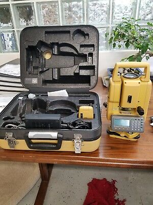 Topcpn GTS 255W Green Label total station with hard case, charger, spare batt