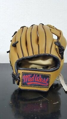 Midwest Handcrafted Childs Baseball Catcher Mitt, Professional model