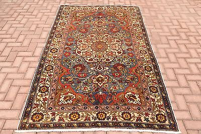 Turkish Handmade Oushak Rug High Quality Tribal Hand Knotted Antique Carpet 5x8