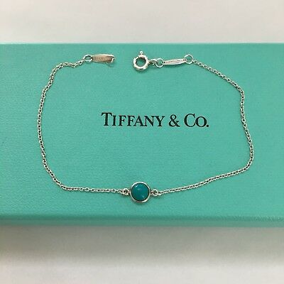 dad693aee57f Tiffany   Co. Elsa Peretti Color By The Yard Blue Turquoise 7.5