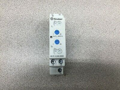New No Box Finder 80 Seiries Timer Relay 80.91.0.240.0000