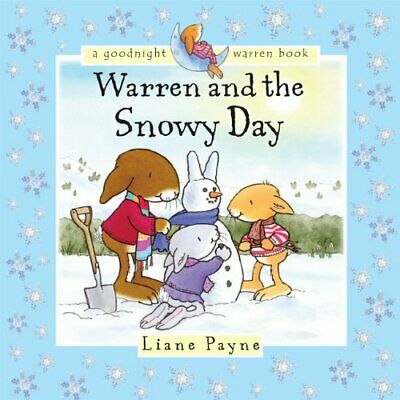 Warren and the Snowy Day New Board book Book Liane Payne