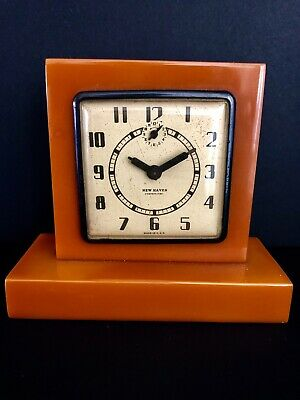 Catalin Bakelite Clock  New Haven