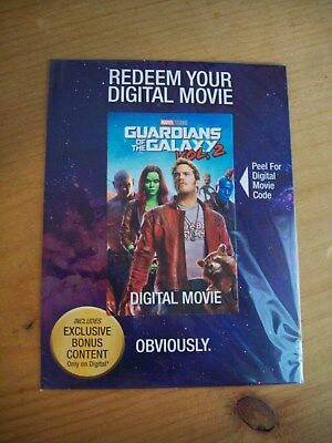 Guardians of the Galaxy Vol. 2 DVD & Digital HD Code