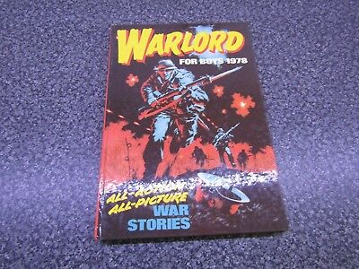 Warlord For Boys Annual 1978 All Action Picture War Stories - Unclipped - Vgc