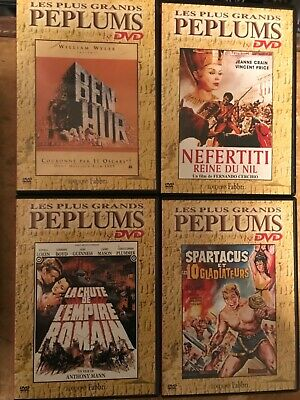 4 DVD les plus grands PÉPLUMS