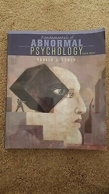 Fundamentals of Abnormal Psychology by Ronald J. Comer (2004, Paperback)