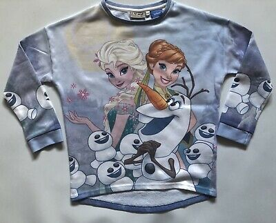 Girls Next Disney Frozen Sweatshirt /Sweater Top  Age 8 Years